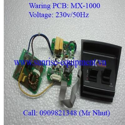 BO MẠCH MÁY XAY WARING MX-1000