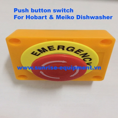 Nút Tắt Khẩn Cấp Máy Rửa Chén Hobart - Meiko