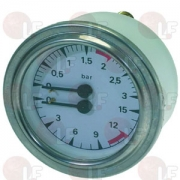 BOILER-PUMP PRESSURE GAUGE 63 mm